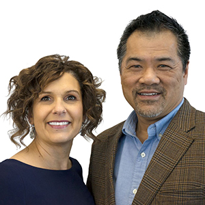 Real Estate Agents, Jill and Carl Yuen